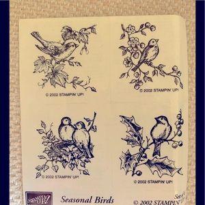 Stampin' Up Seasonal Birds Stamp Set